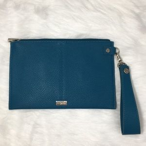 Jewell by Thirty One Small Clutch Wristlet Teal